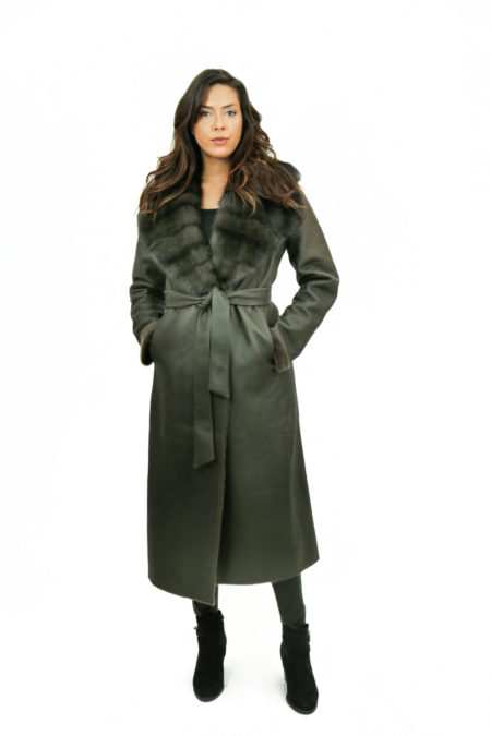 Front of the Coat